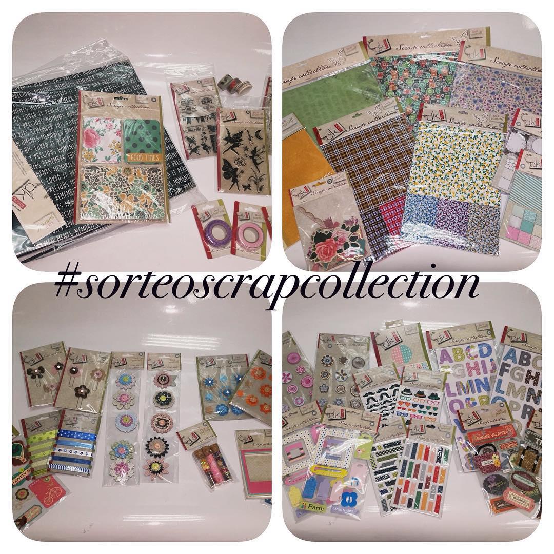 Sorteo Scrap Collection en Instagram
