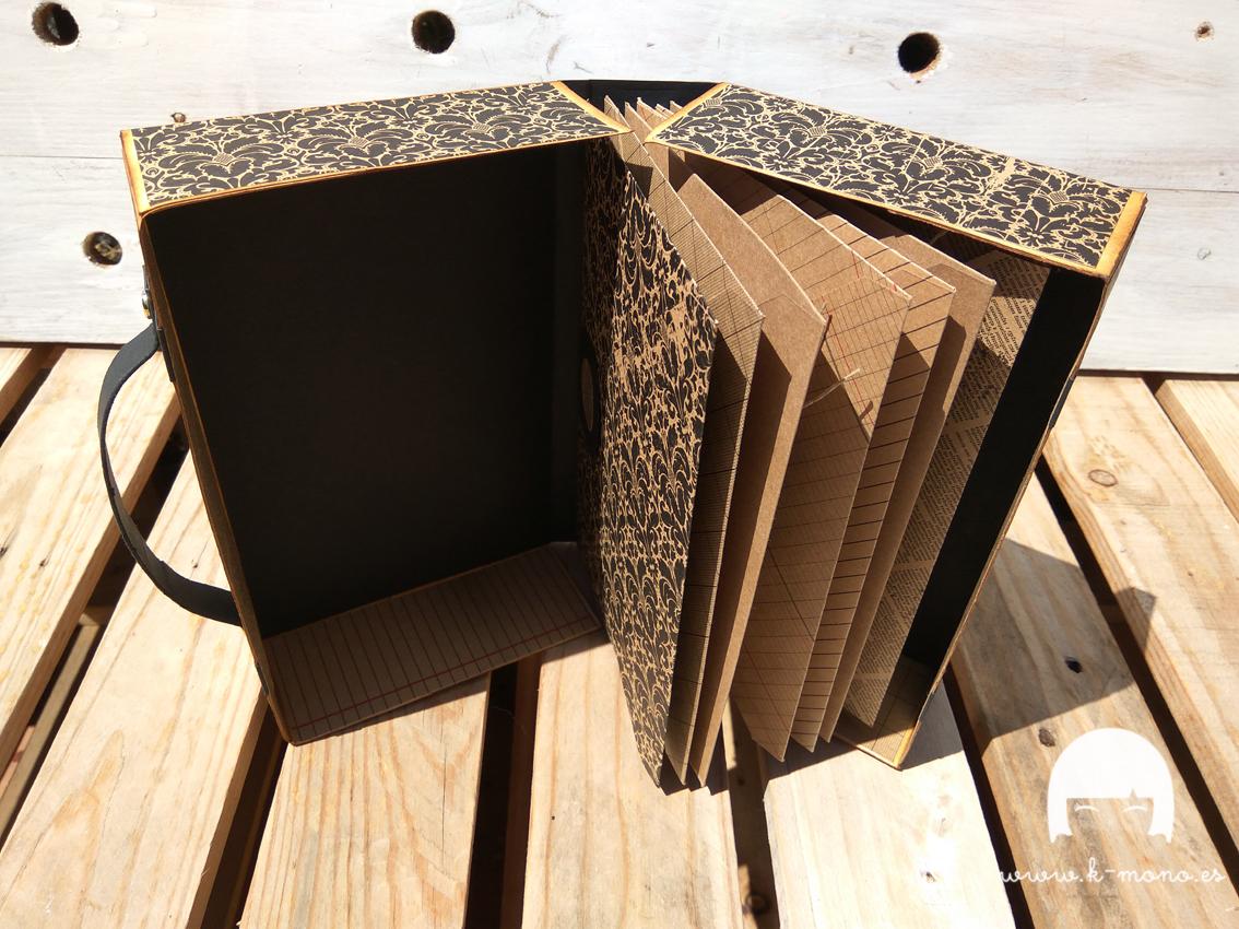 Maleta Mini Álbum con sobres para DK Scrap Collection 4
