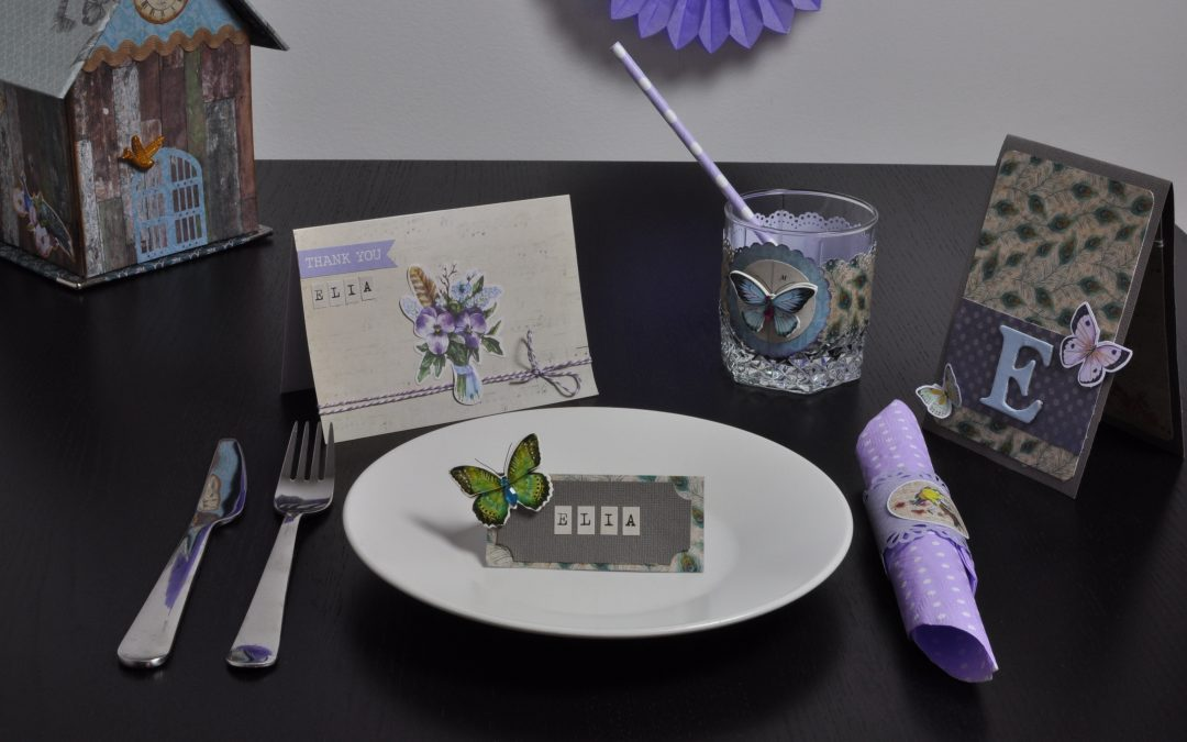 "Table Decor ""Bird Song"" – Iris Scrap"
