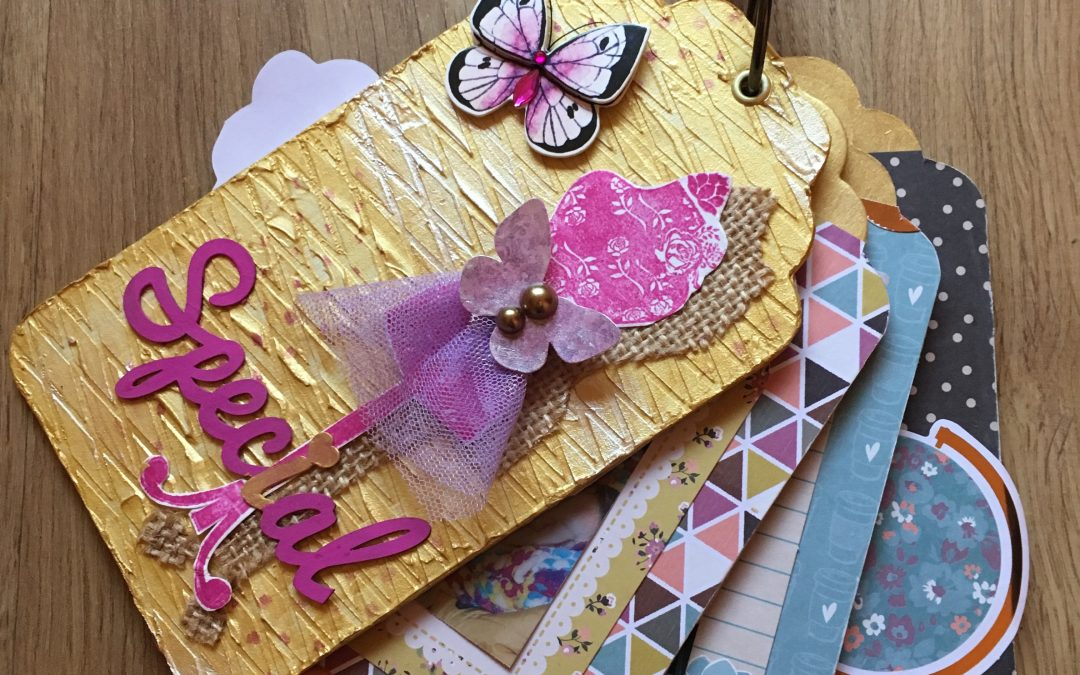 Mini álbum tags – Iris Scrap