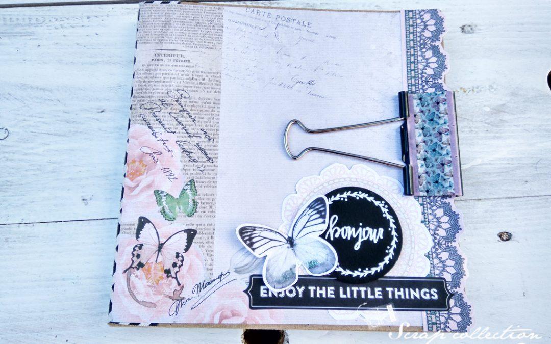 Mini álbum «Book Style» – Vanesa K-Mono