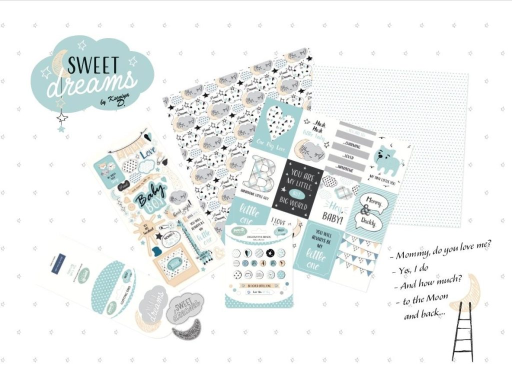 sweet dreams boy collage