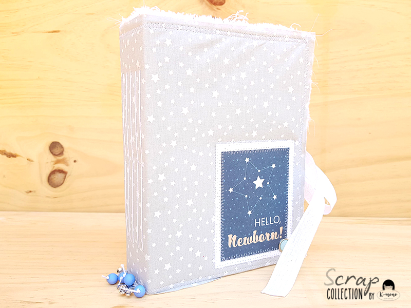 Junk Journal para bebé con Star Baby Boy – Vanesa K-Mono