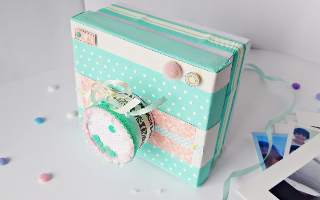 Caja cámara de fotos