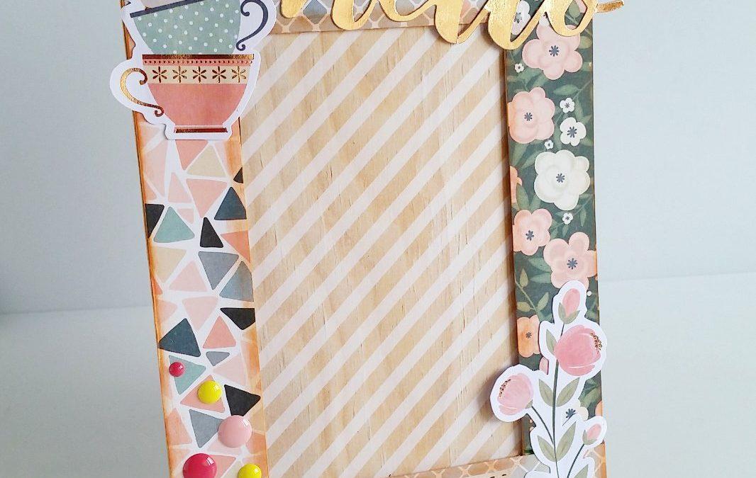 Portafotos decorado – Kira Creaciones